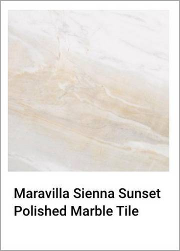 Maravilla Sienna Sunset Polished Marble Tile