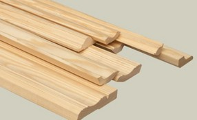Unfinished Moldings & Trim (Baseboards)