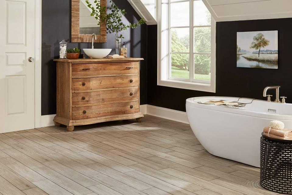 Ash Wood Bathroom