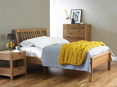 Oak furniture storage beds and tables Furniture Village