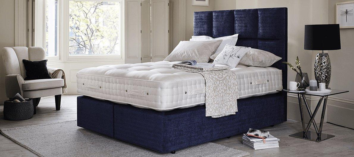 Furniture Village Guarantee the handmade bed company beds & divans - furniture village