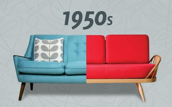 1950s sofa
