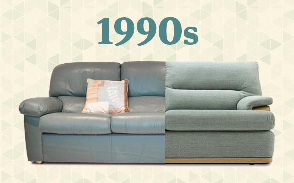 1990s sofa