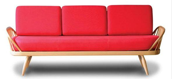 Red Studio sofa