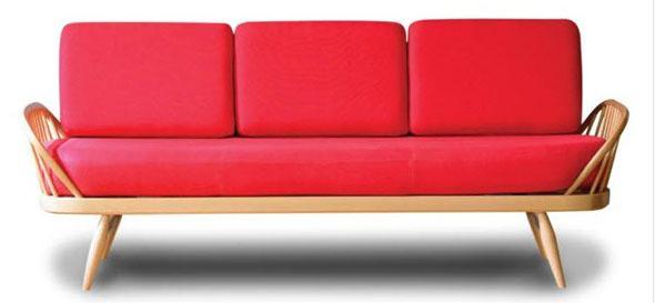 Red Studio sofa