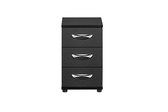 Maddox 3 Drawer Narrow Bedside Table