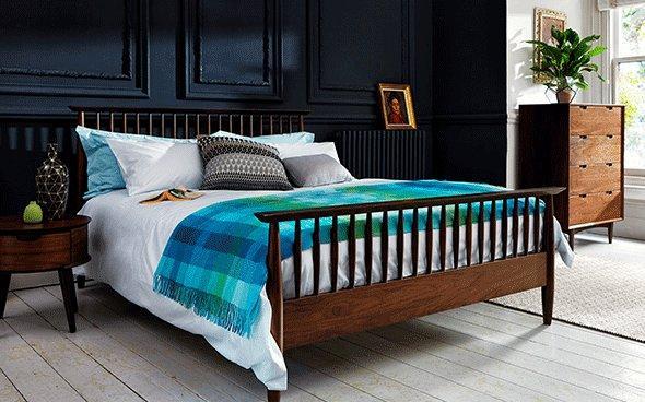 Bergen Wooden Bed