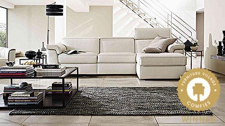 Natuzzi sensor sofa