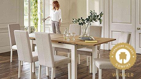 Compton extending table