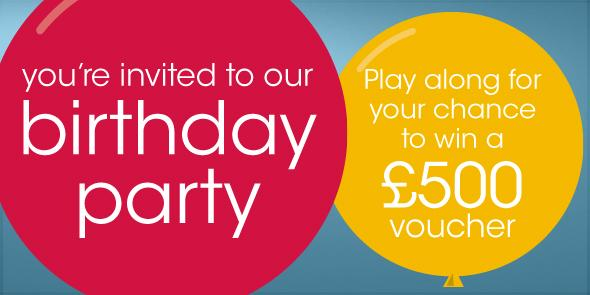 Furniture village birthday party