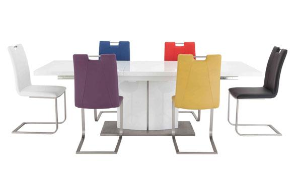 Multi-Coloured Dining Set