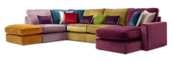 Harlequin Corner Sofa