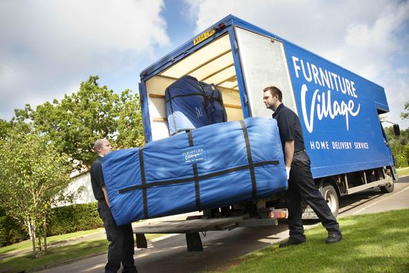 Furniture Village delivery people