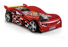 Kids race car bed