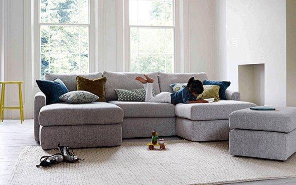 Duo Double Chaise Sofa