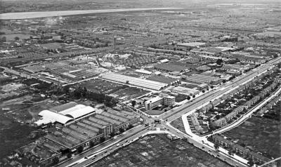 Ferguson factory and the great cambridge road