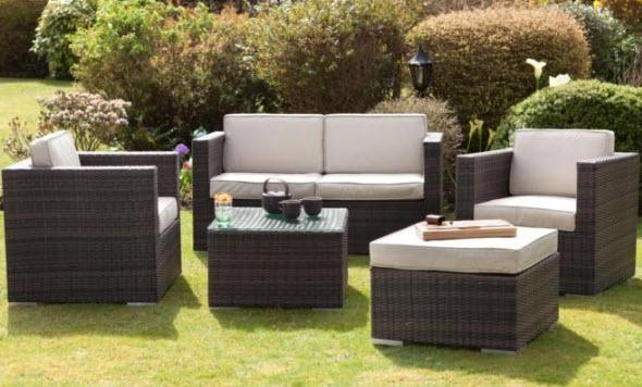 Ascot square garden sofa set