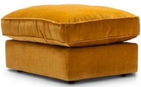 Harlequin loafer footstool from Furniture Village