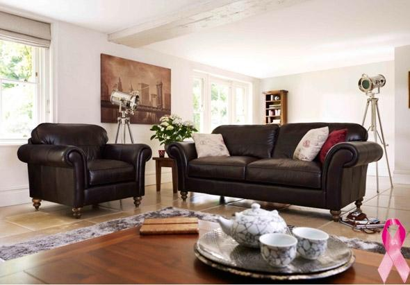 Heathfield leather sofa