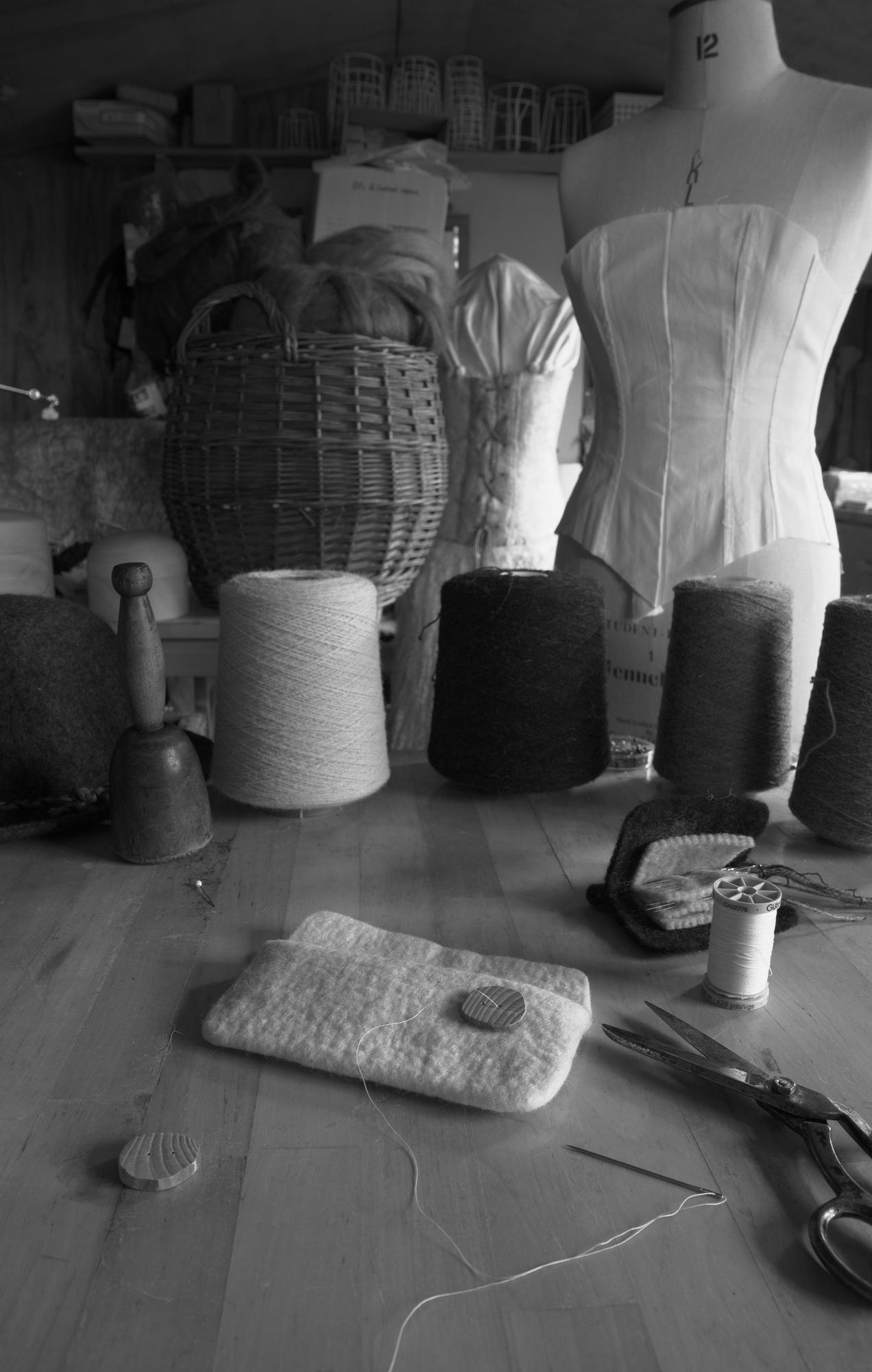 Gabriel langley and a home fashion design studio