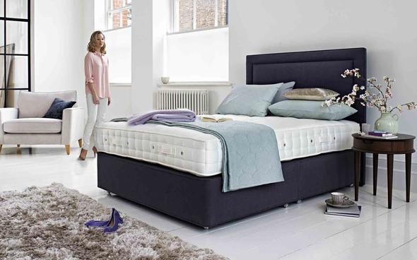 A Revive Double Bed by Furniture Village
