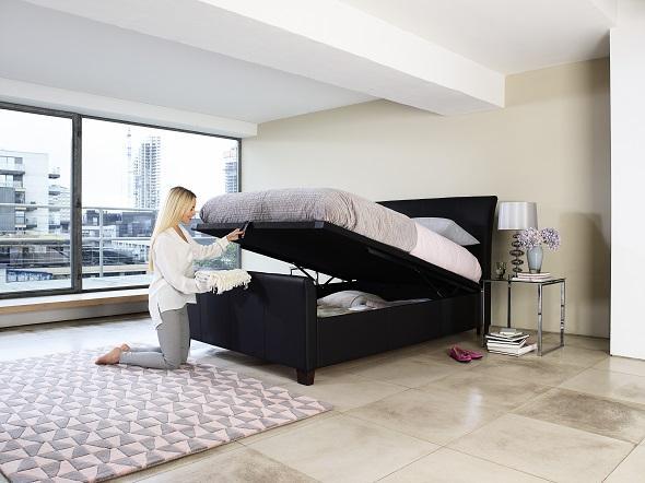 kaydian ottoman storage bed