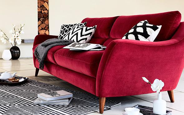 Remy Velvet Sofa