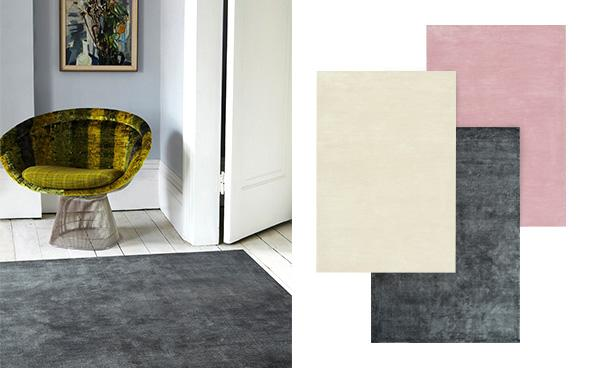 Velvet crush rugs