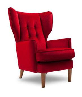 Marion  red wing chair