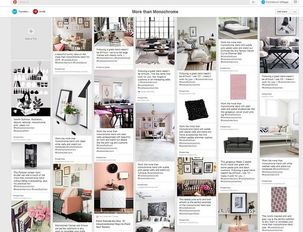 More than monochrome pinterest board