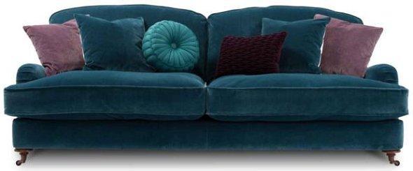 Blue isabelle sofa
