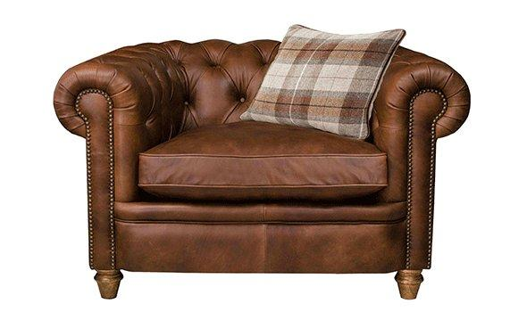Newport Leather Chair