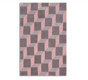 nordic pink rug