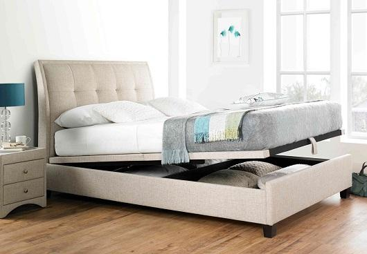 Miles Ottoman Double Storage Bed from Furniture Village