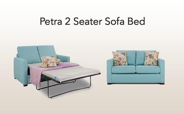 Petra 2 seater sofa bed