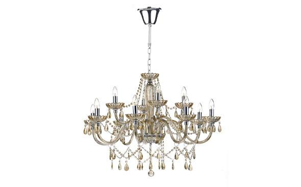 raphael champagne glass chandelier