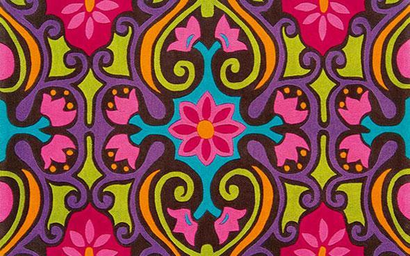 scroll rug