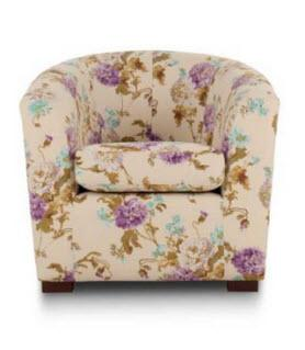 Floral Petra Chair