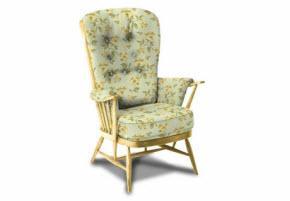 Ercol Floral Sofa