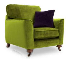 Harlequin green chair