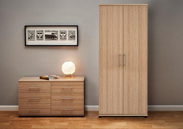 Amari 2-door wardrobe