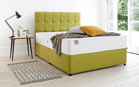 Slumberland Tempo Super King size Divan Bed