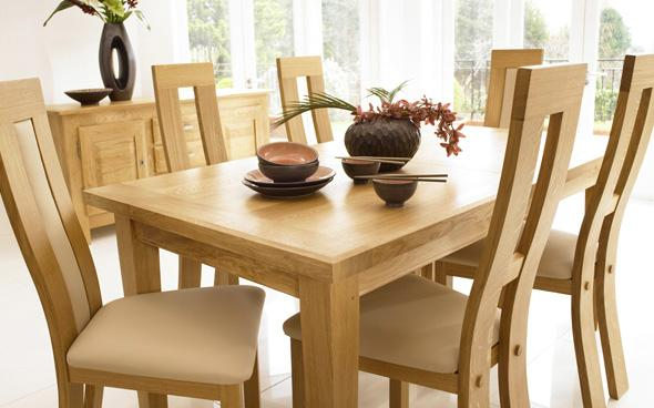 Horizon Extending Dining Room Table Set by Furniture Village