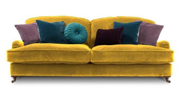 Velvet isabelle sofa