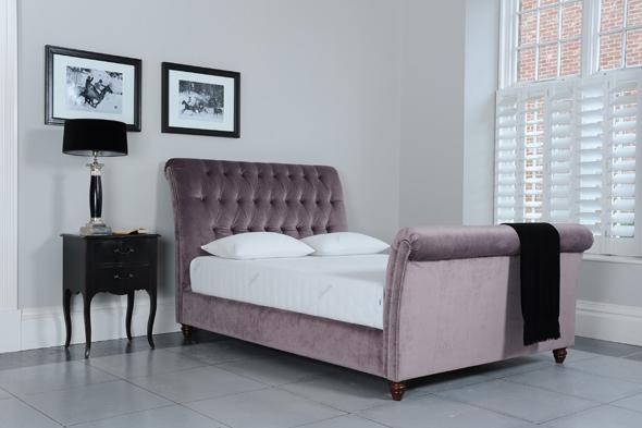 Velvet tempur bed