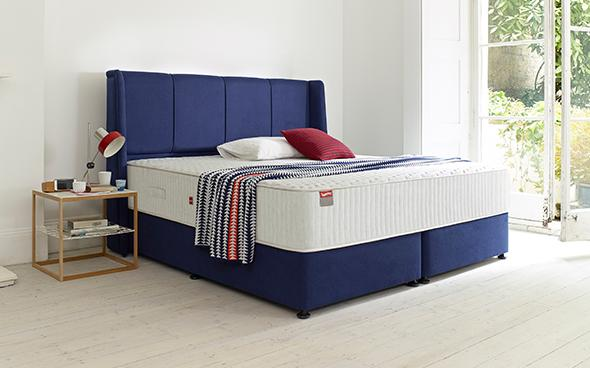 Slumberland wave double bed