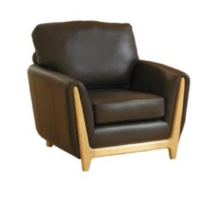 Ercol Isola Leather Easy Chair