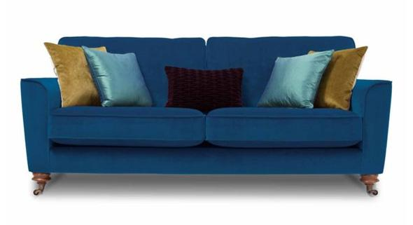 Blue Harlequin Juliet sofa