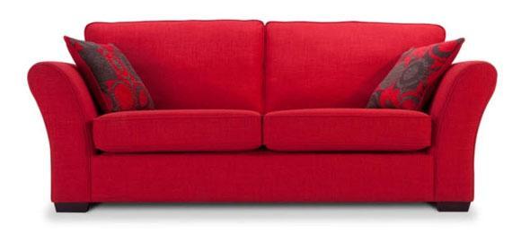 desire red sofa