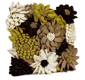 floral melissa cushion